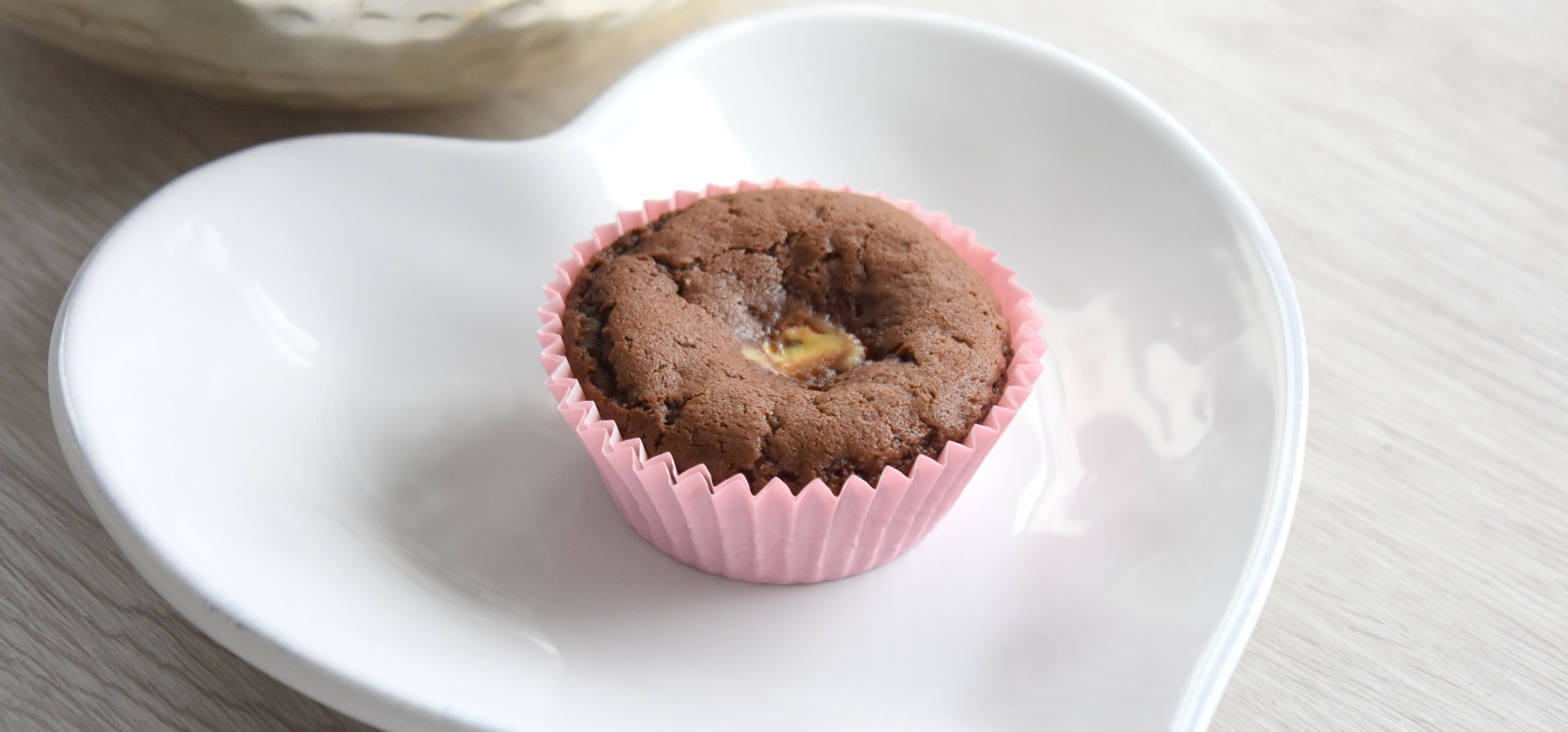 Double Chocolate Cheesecake Muffins