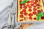 Happy Birthday Zimtblume: Schnelle Tomaten-Quiche